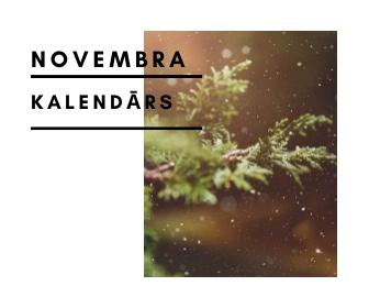 Novembra kalendārs